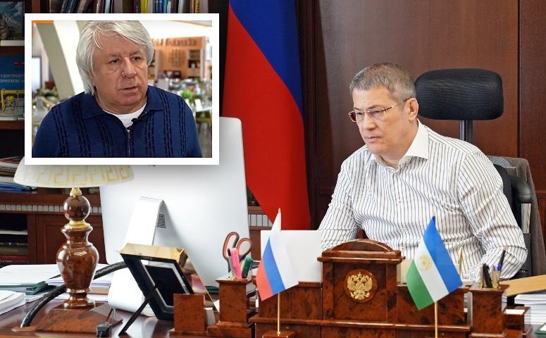 Глава Башкортостана Радий Хабиров обсудил с владельцем компании «Уфамебель» Виктором Кочубеем