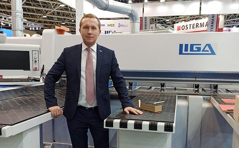 Виталий Кривошеев, генеральный директор компании LIGA на ЛЕСДРЕВМАШ 2020