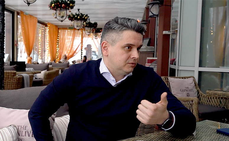 Александр Маненок — исполнительный директор компании «Аскона»