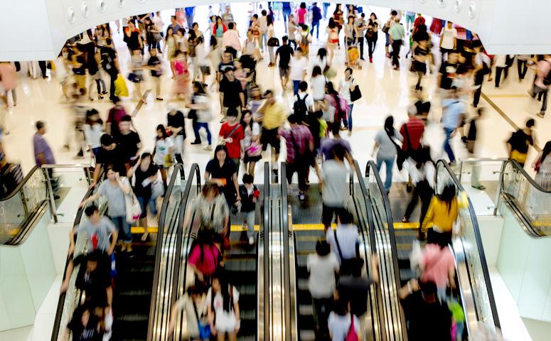 Трафик в ТЦ падает, онлайн-продажи растут