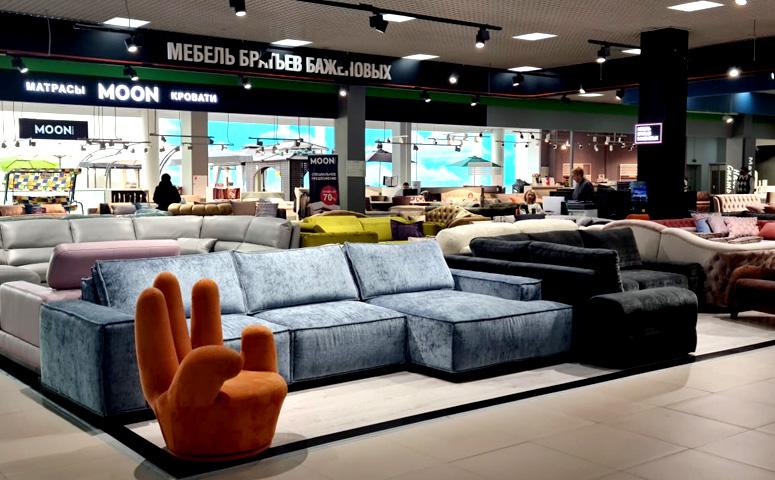 Новые фирменные салоны фабрики «Мебель братьев Баженовых»