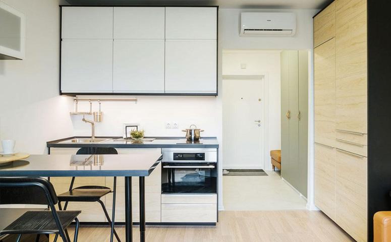 Предложение по меблировке квартиры-студии «Бутово Парк» от ГК «Пик»