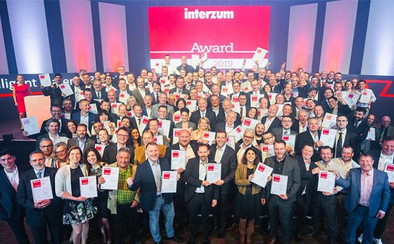 Interzum Award, который Koelnmesse и Red Dot ежегодно устраивают в рамках выставки Interzum