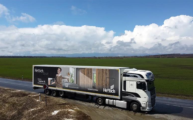 «Хеттих РУС» запустила проект «технологичное путешествие Hettich Tour»